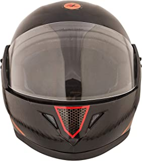 VARSHINE RHHYN@X FULL FACE HELMET || BLACK COLOR || Medium Size || ISI APPROVED || WITH HYDROGRAPHICS || Unbreakable PC Visor with Double Layer Silicon Hardcore Coating || Scratch Resistant || MODEL- JETTY