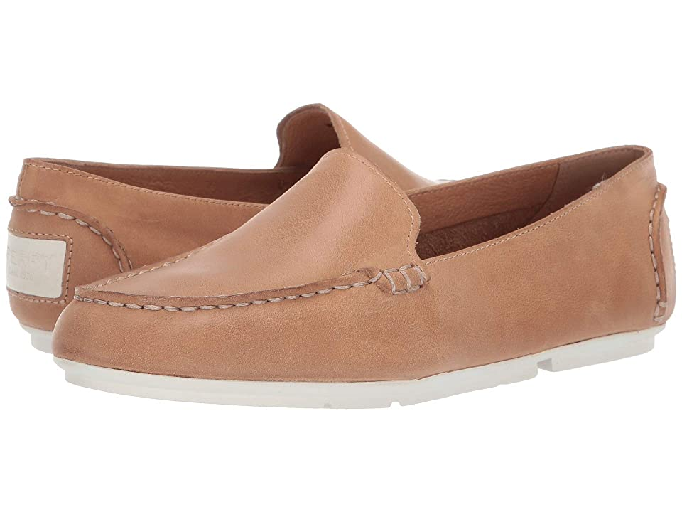 Sperry Bay View Slip-On Leather (Tan) Women