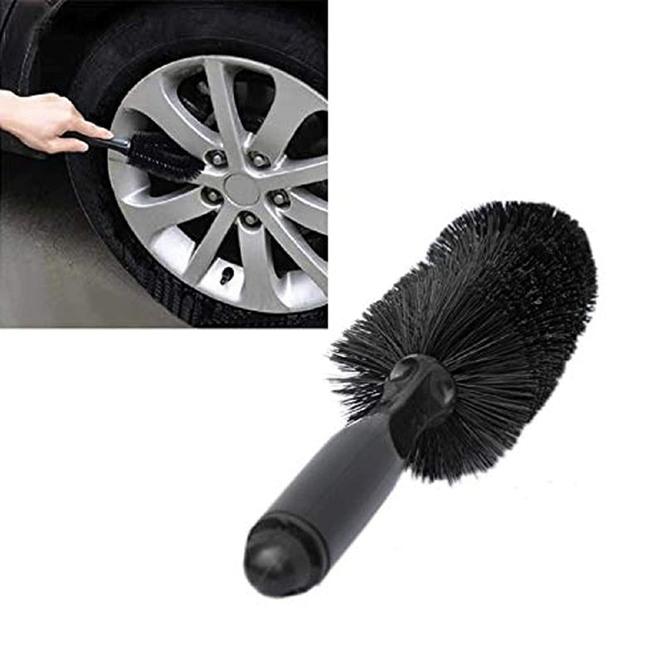 m·kvfa Car Vehicle Motorcycle Wheel Tire Rim Scrub Brush Washing Cleaning Tool Cleaner Washing Tool Wheel Washing