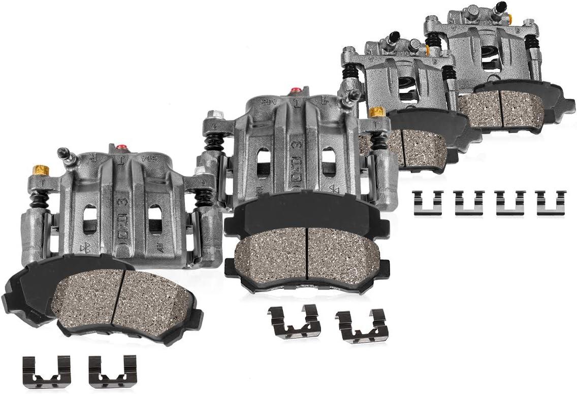 Callahan CCK07071 4 FRONT + Max 65% OFF Original Sale item REAR Calipe Premium Brake