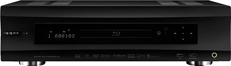 OPPO BDP-105 Universal Audiophile 3D Blu-ray Player (Black)