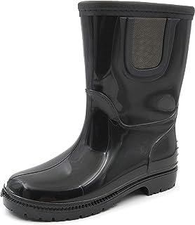 Amoji Kid Rain Boots Chelsea Rubber Boots (Toddler/Little Kid/Big Kid)