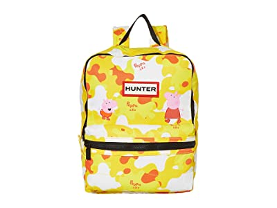 Hunter Kids Peppa Muddy Puddles Backpack (Little Kid/Big Kid) (Wader Yellow) Backpack Bags