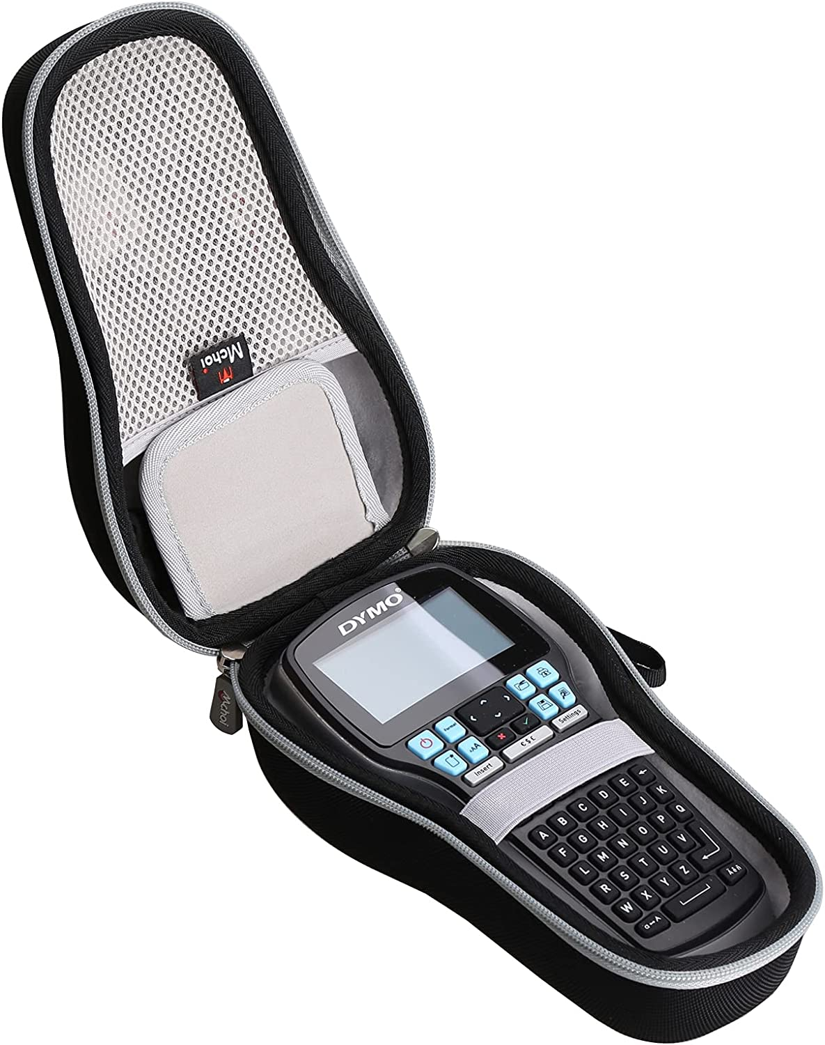 Mchoi Hard Portable Case Compatible LabelM Max 63% OFF service with Label Maker DYMO