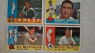 Best 1960 topps baseball card set Reviews