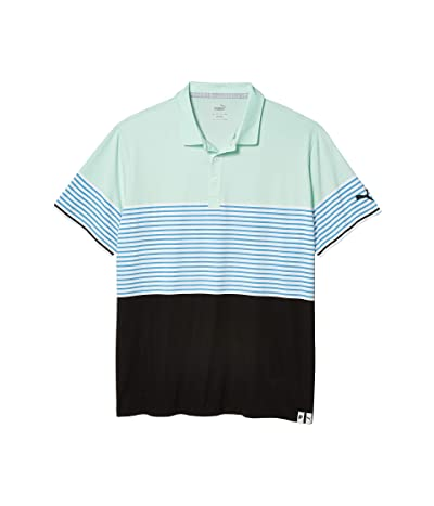 PUMA Golf Taylor Polo (Mist Green) Men
