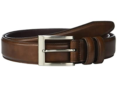 Allen Edmonds Wide Basic Dress Belt (Coffee) Men