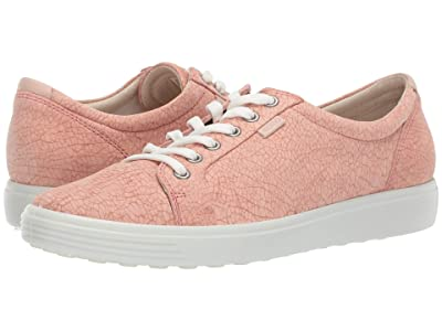 ECCO Soft 7 Sneaker (Muted Clay Rosata/Rose Dust Cow Nubuck/Cow Leather) Women