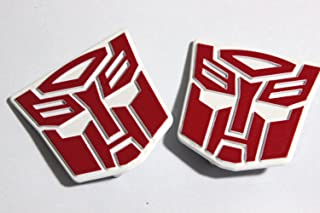 Autobot Logo Emblems For Transformer Wei Jiang Trailer
