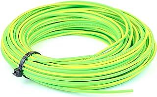 Cable de conducto de núcleo único de 6 mm, 6491X, color azul vivo, marrón neutro, amarillo/verde, rollo completo y longitudes personalizadas disponibles