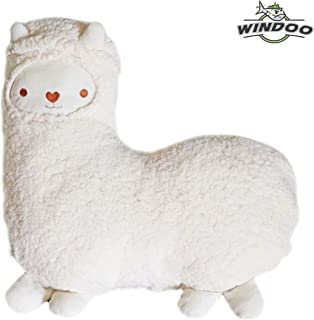 SAVYOU White color Aunt Merry Mokomoko Llama Alpaca Hug Pillow Cushion Doll by zZZ