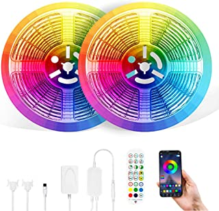 LED Lights for Bedroom 100 FT LED Strip Lights, (2 ×...