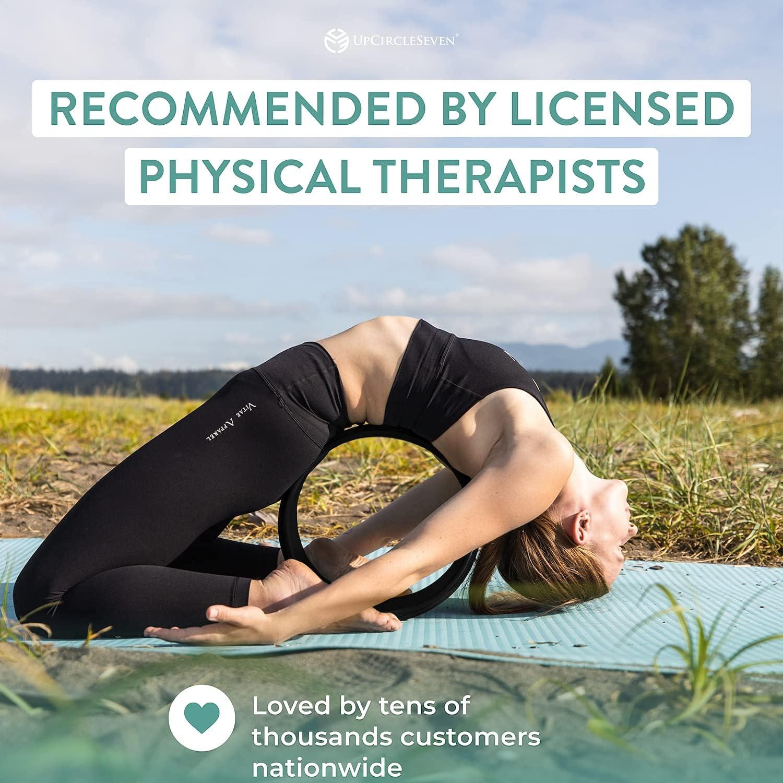 Buy UpCircleSeven Yoga Wheel for Back Pain   Deep Tissue Massage ...