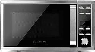 BLACK+DECKER ES9700040B BXMZ901E Micro-ondes avec grill et convection, 1000 W, 25 liters, Gris