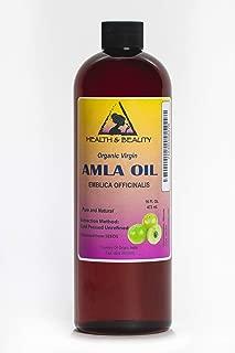Amla Seed Oil/Gooseberry Seed Oil Unrefined Organic Virgin Cold Pressed Raw Prime Fresh Pure 16 oz
