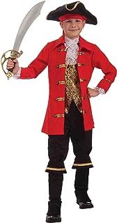 Forum Novelties Deluxe Designer Collection Captain Cutlass Costume, Child Small