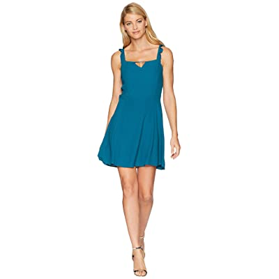 Lucy Love Falling For You Dress (Teal) Women