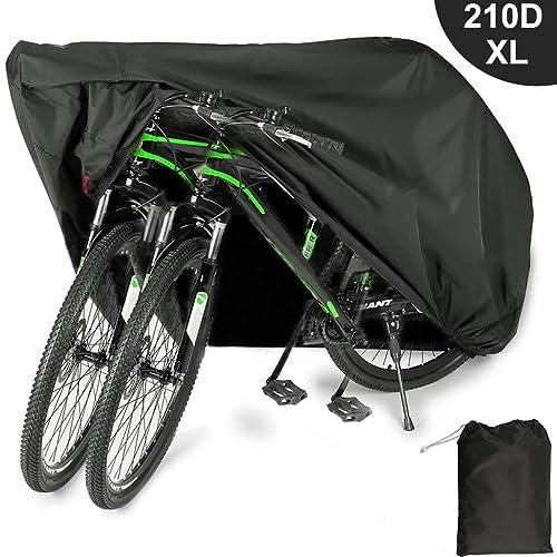 Viaky 2 Bicycle Cover Two Cycle Mountain Bike// Road Bike Rain Cover Waterpr...