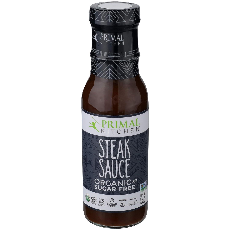Primal Indefinitely store Kitchen Organic Steak Sauce and OZ Marinade 8.5