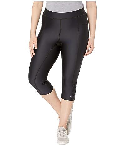 Skirt Sports Plus Size Liberator Capris (Black) Women