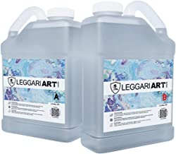 Crystal Clear Epoxy Resin with Nano Glass Technology for Extreme Durability and Scratch Resistance. 1.5 Gallon Kit. Industrial Grade Super Gloss.