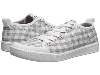 Roxy Kids Thalia (Little Kid/Big Kid) (Grey) Girls Shoes