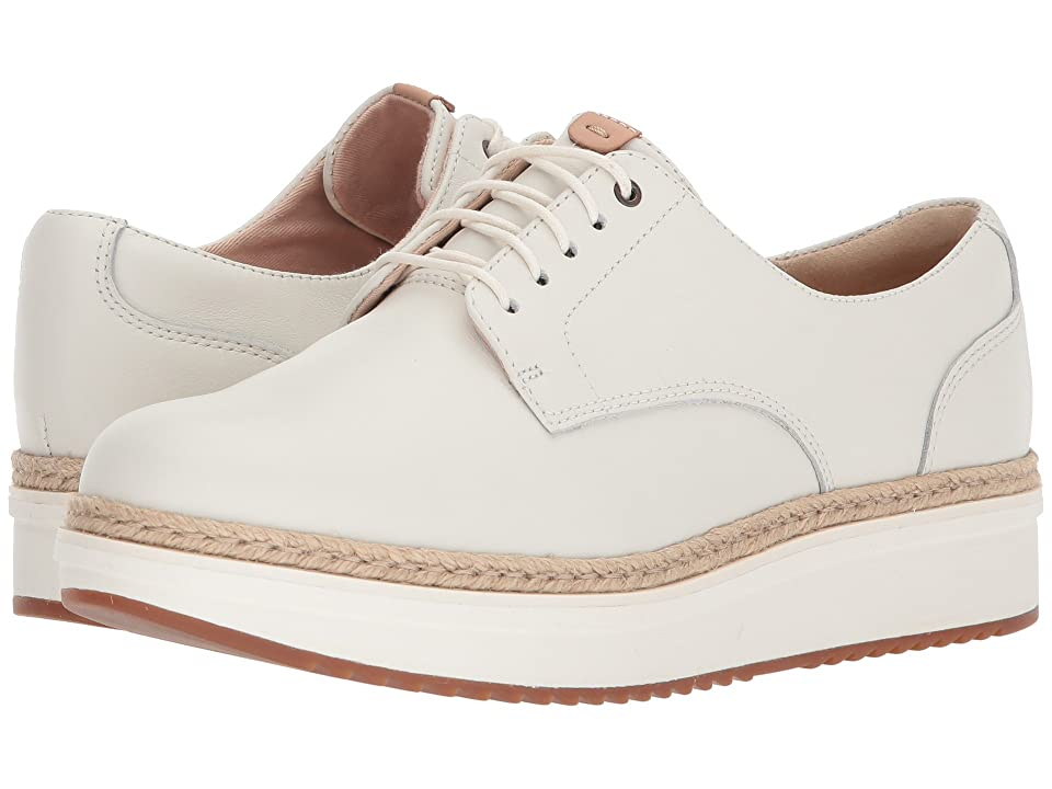 Clarks Teadale Rhea (White Leather) Women