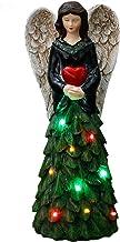WCY Estatuas for la Escultura Inicio Ángel Decoración Chica Estatua decoración de jardín decoración de jardín Crafts Accesorios yqaae