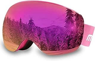 AKASO OTG Ski Goggles, Snowboard Goggles, Mag-Pro Magnetic Interchangeable Lenses,..