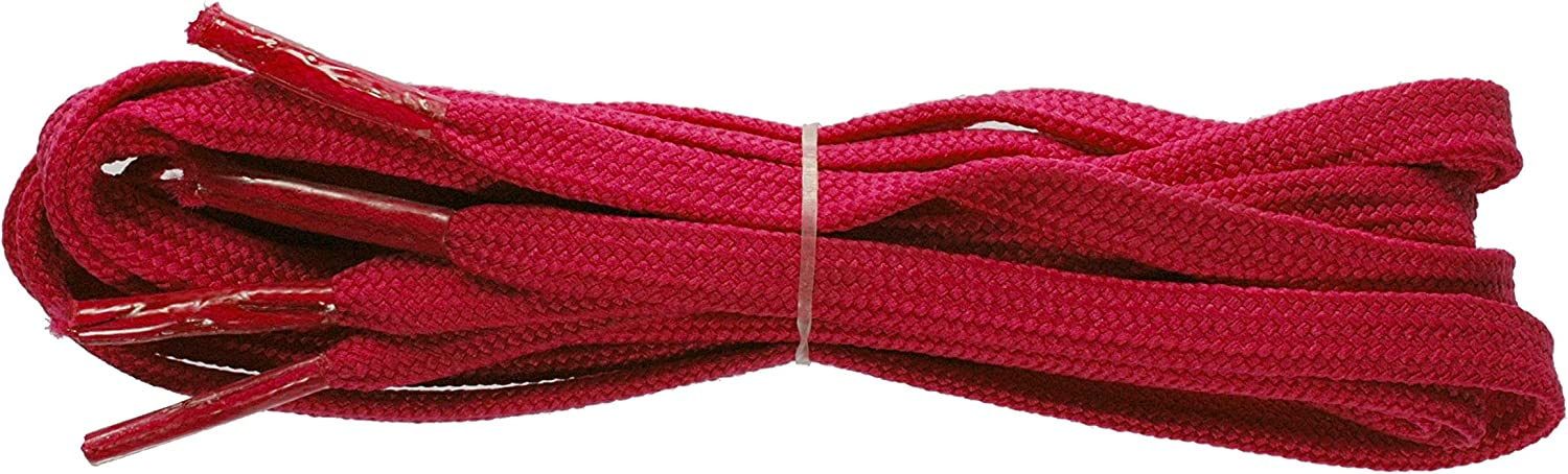 Shoes /& Boots TZ Laces/® Branded Flat 10mm Reds Pinks /& Purple shoelaces Fashion Trainers