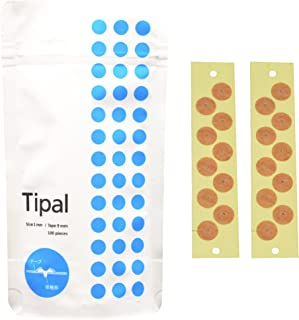 Tipal(ティパル)つぶシール 樹脂製 (接触部 1mm テープ径 9mm)