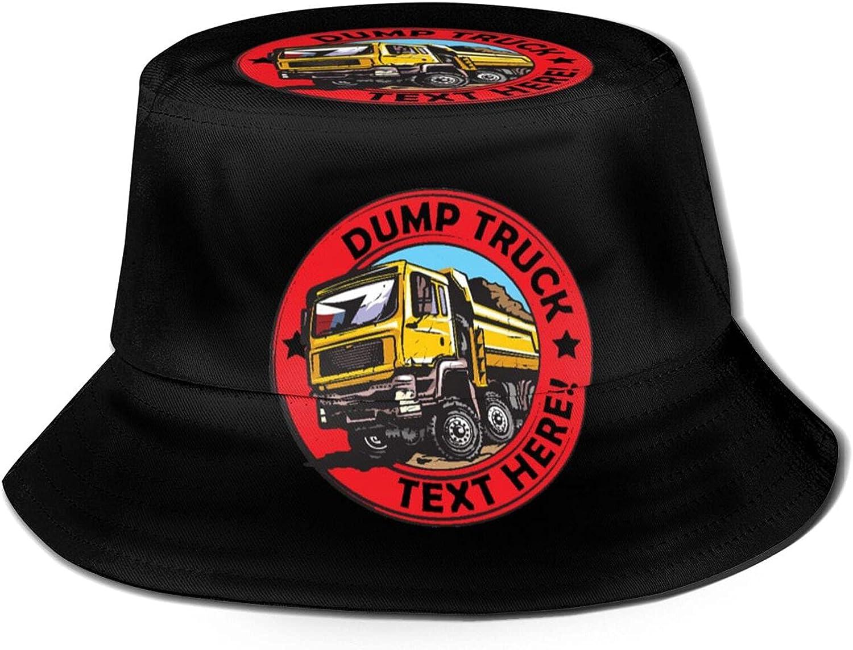 Deluxe ZADPBB American USA Dump Truck Hat Funny Bucket Fisherman Beach Free shipping
