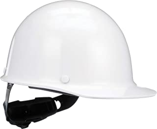 MSA 475396 Skullgard Cap Hard Hat, with 4-point Fas-Trac III Suspension, Standard, White