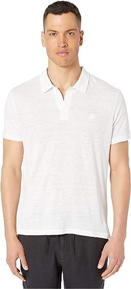 33cc3bc60e Elie tahari steve linen shirt j31e0504 white