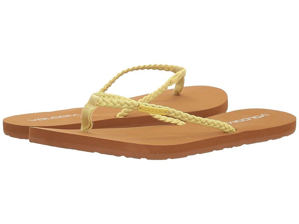 Volcom Weekender Sandals (Citron) Women
