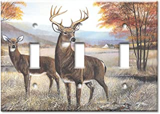 Best antler triple switch plate cover Reviews