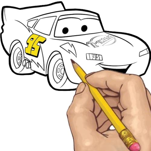 How to Draw: Cars Movie Characters
