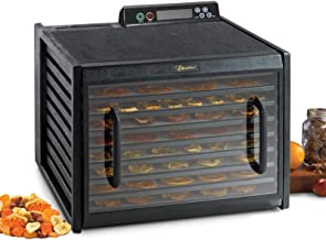 Excalibur 4948CDB – 9 Tray Food Dehydrator, 48 hour Digital Timer, Two Stage / Two Temperature Setting for Faster and Effi...