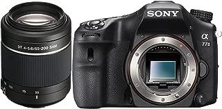 Sony a77 II (Alpha 77 II) ILCA-77M2 Body Bundle with Sony SAL552002 55-200mm Telephoto Zoom Lens