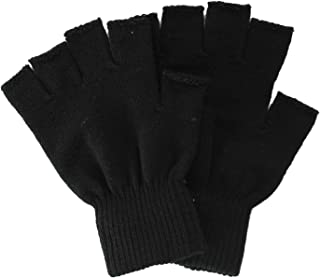 Men/Women Winter Classic Solid Colored Knit Gloves