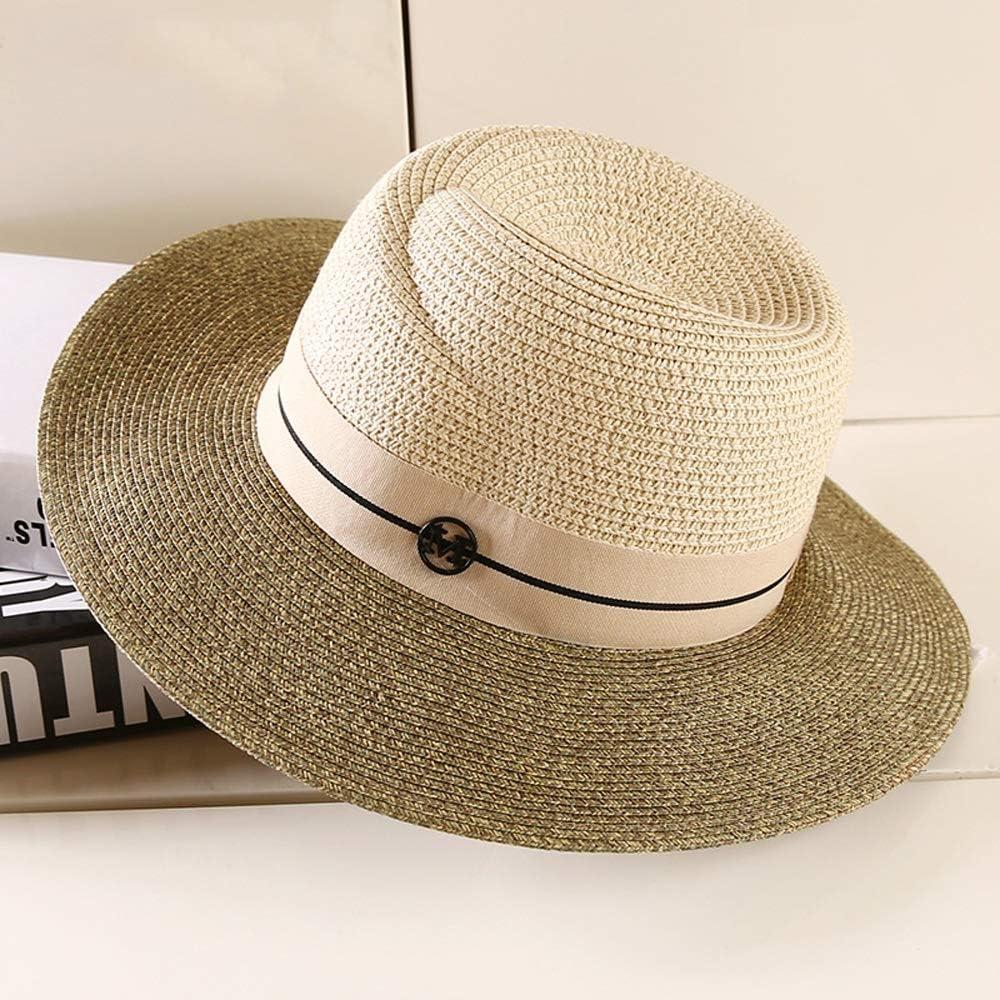 YD Hat - Straw Philadelphia Mall Ladies Summer and European Hats Super-cheap Seas American