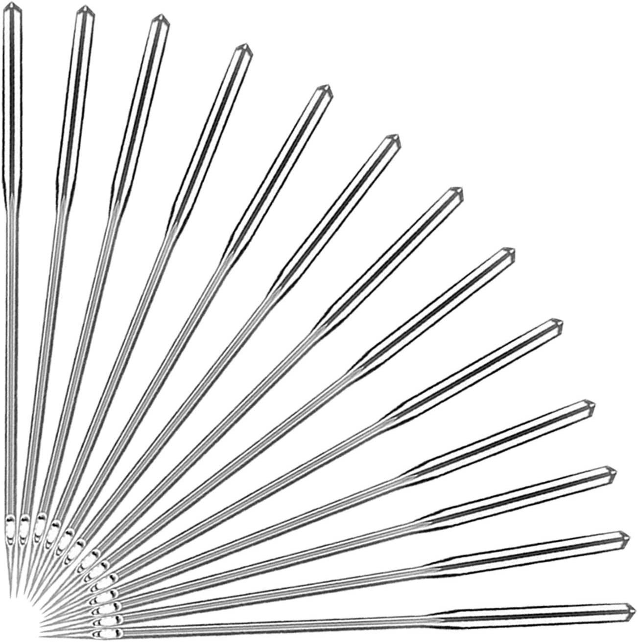 New product type 50 Count Sewing Machine Needles for Tampa Mall Universal Sew Point Ordinary