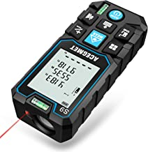 Laser Measure, Acegmet 229Ft M/In/Ft Laser Distance Measure Backlit LCD with Mute..