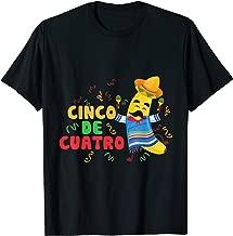 cinco de cuatro t shirt