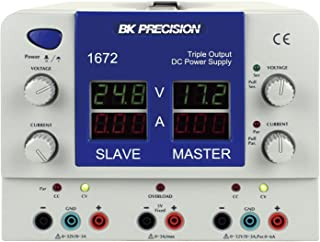 B&K Precision 1672 Quad Display Triple Output DC Power Supplies, 0-3A Current (variable outputs)
