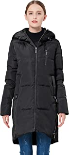 Orolay Women's Stylish Thickened Down Jacket Hooded Coat