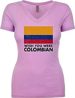 Wish You were Colombian Women's V Neck Shirt