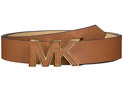 MICHAEL Michael Kors 32 mm Logo Belt (Luggage) Women
