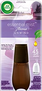 Air Wick Essential Mist Refill, Essential Oils Diffuser, Unwind, Air Freshener, Aromatherapy, 0.67 Fl Oz