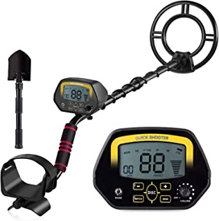 MOSTON Metal Detector for Adults High-Accuracy Metal Detector with LCD Display for Kids, Waterproof Search Coil for Underw...